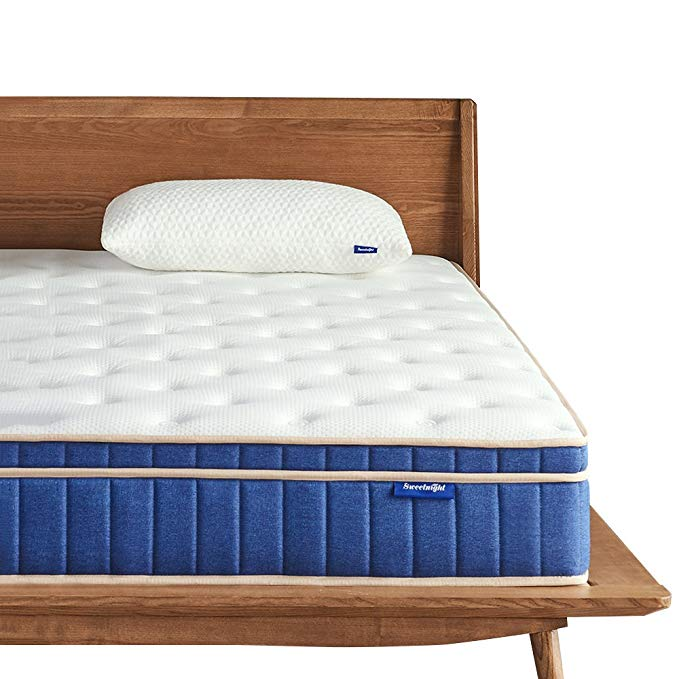 Normally $800, the twin-size of this 8-inch mattress is 77 percent off today (Photo via Amazon)