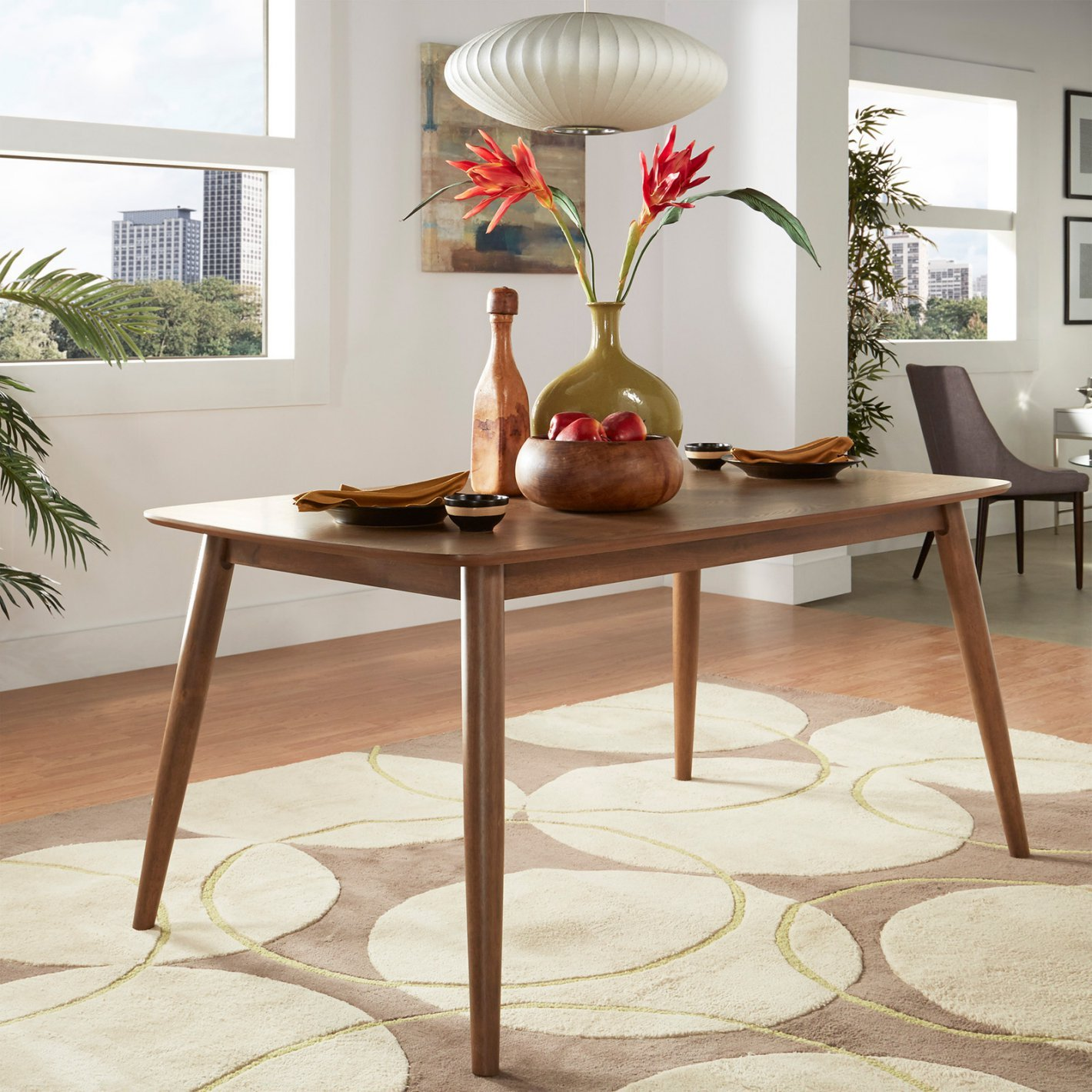 Normally $580, this dining table is 66 percent off (Photo via Hayneedle)