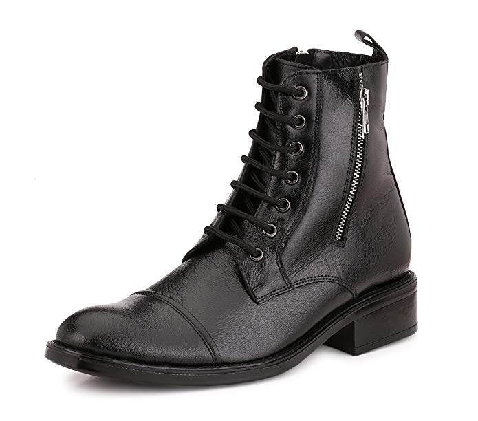 Normally $160, these #1 bestselling leather boots are 61 percent off today (Photo via Amazon)