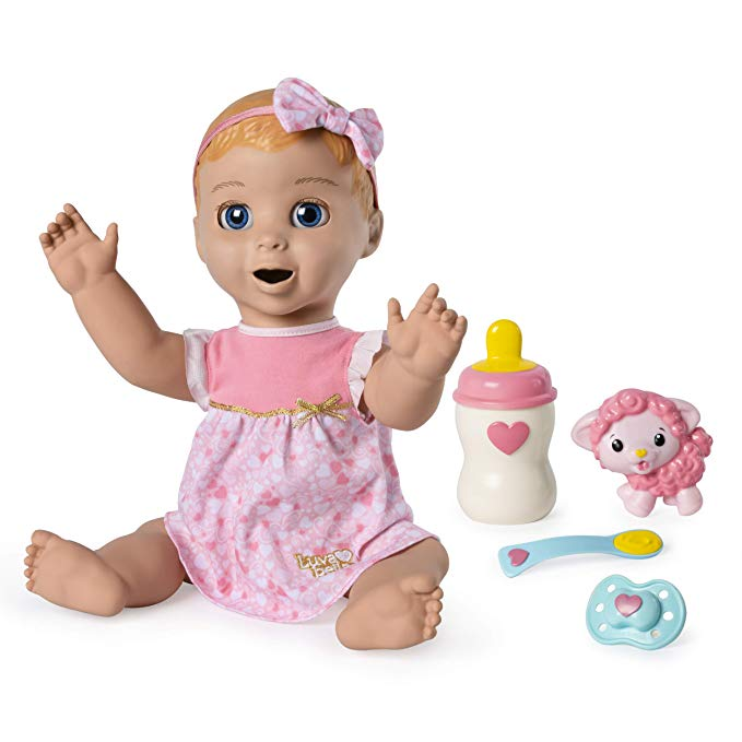 Normally $100, the Luvabella baby doll is 40 percent off (Photo via Amazon)