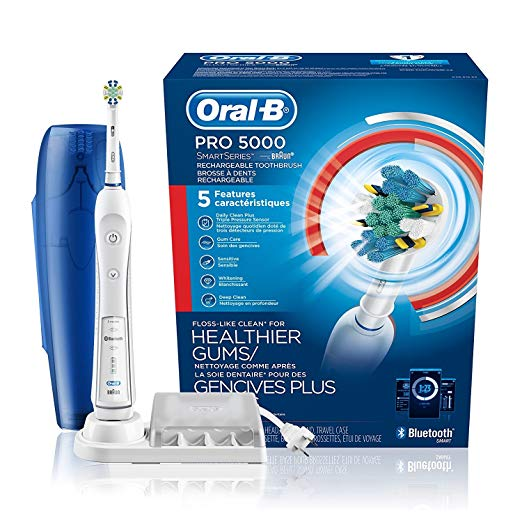 Normally $160, this electric toothbrush is 50 percent off (Photo via Amazon)