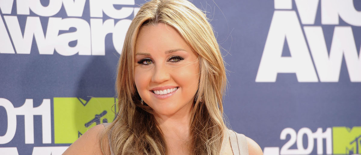 Amanda Bynes arrives at the 2011 MTV Movie Awards at Universal Studios' Gibson Amphitheatre on June 5, 2011 in Universal City, California. (Photo:Getty Images)