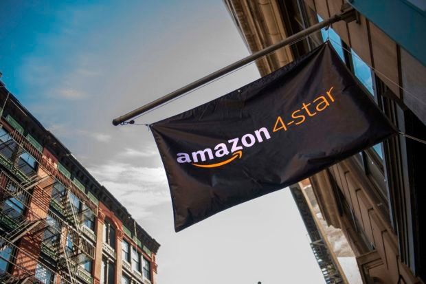 Amazon opens a new store where everything for sale is rated 4 stars and above, is a top seller, or is new and trending on Amazon.com in SoHo neighborhood of New York on September 27, 2018. (Photo by Jim WATSON / AFP)