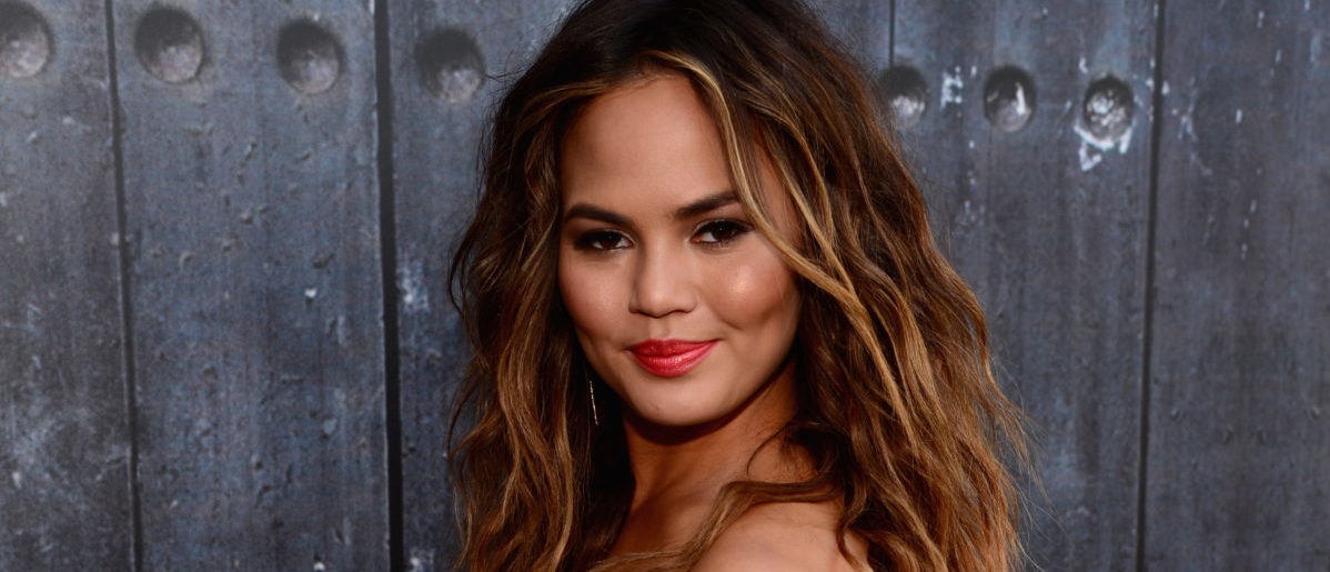 "Model Chrissy Teigen attends Spike TV's ""Guys Choice 2014"" at Sony Pictures Studios on June 7, 2014 in Culver City, California. (Photo by Frazer Harrison/Getty Images for Spike TV)"