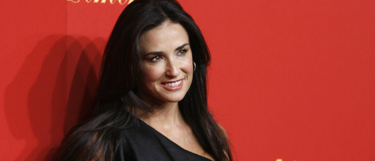 Actress Demi Moore arrives for the Cartier 100th Anniversary in America Celebration event in New York April 30, 2009. REUTERS/Lucas Jackson