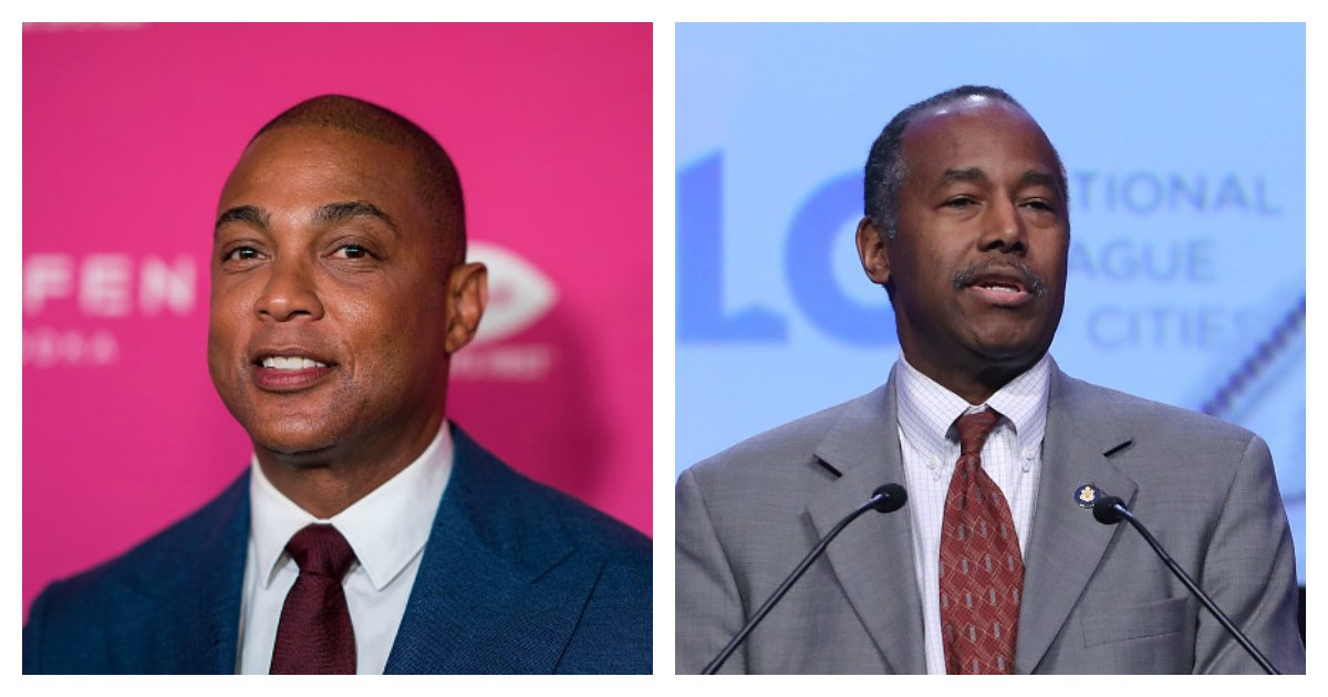 Ben Carson Responds To Don Lemon's Comments About White Men Being A Threat