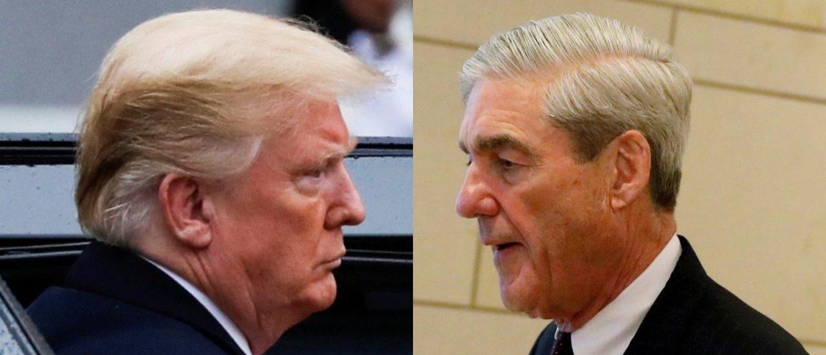 Trump and Mueller (LEFT: REUTERS/Carlos Barria RIGHT: REUTERS/Aaron P. Bernstein)