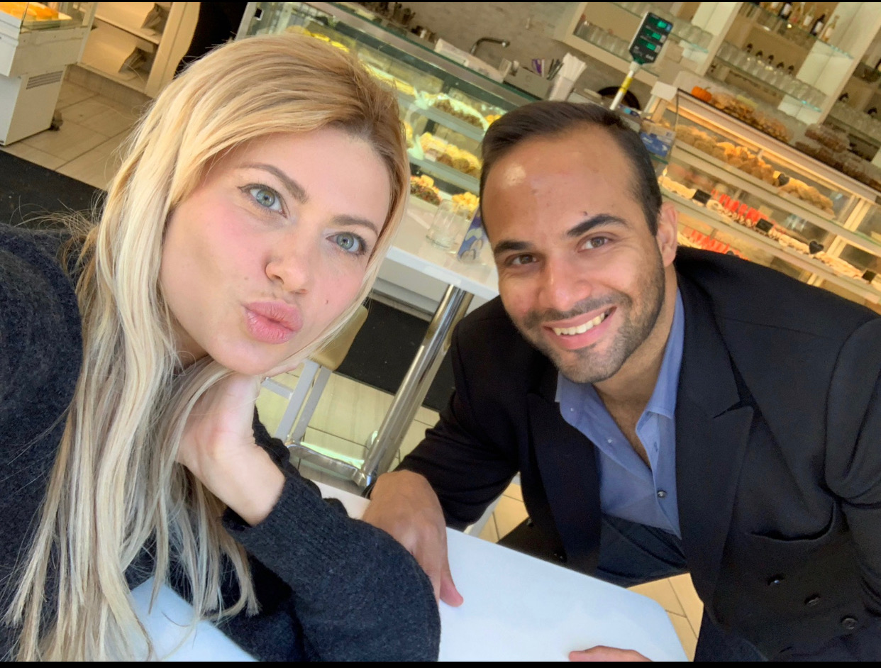 (Simona and George Papadopoulos Photo Obtained By TheDCNF)