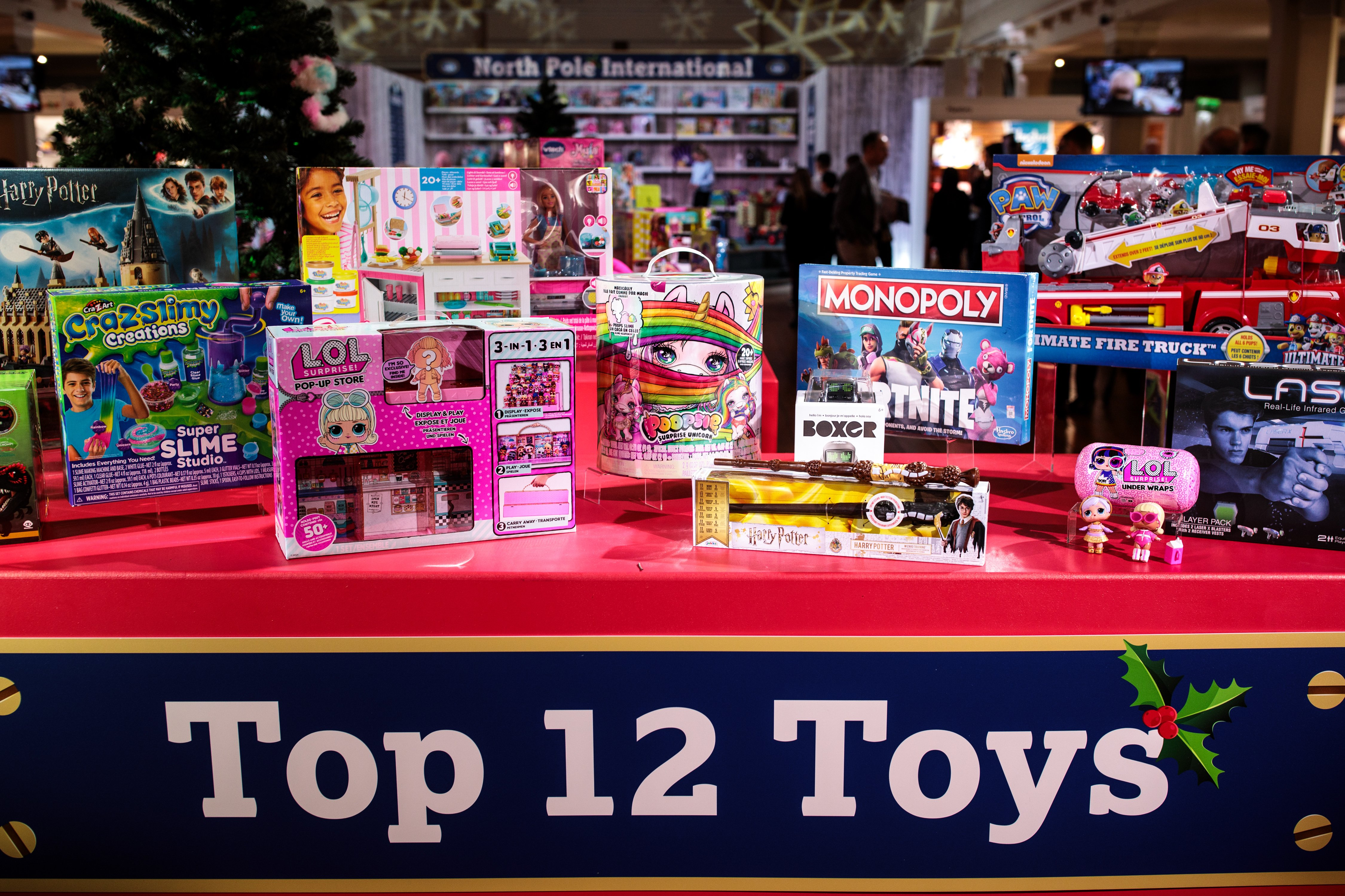 Top toys are displayed at a 'Dream Toys' event to unveil the top twelve toys this Christmas on November 14, 2018 in London, England. Jack Taylor/Getty Images