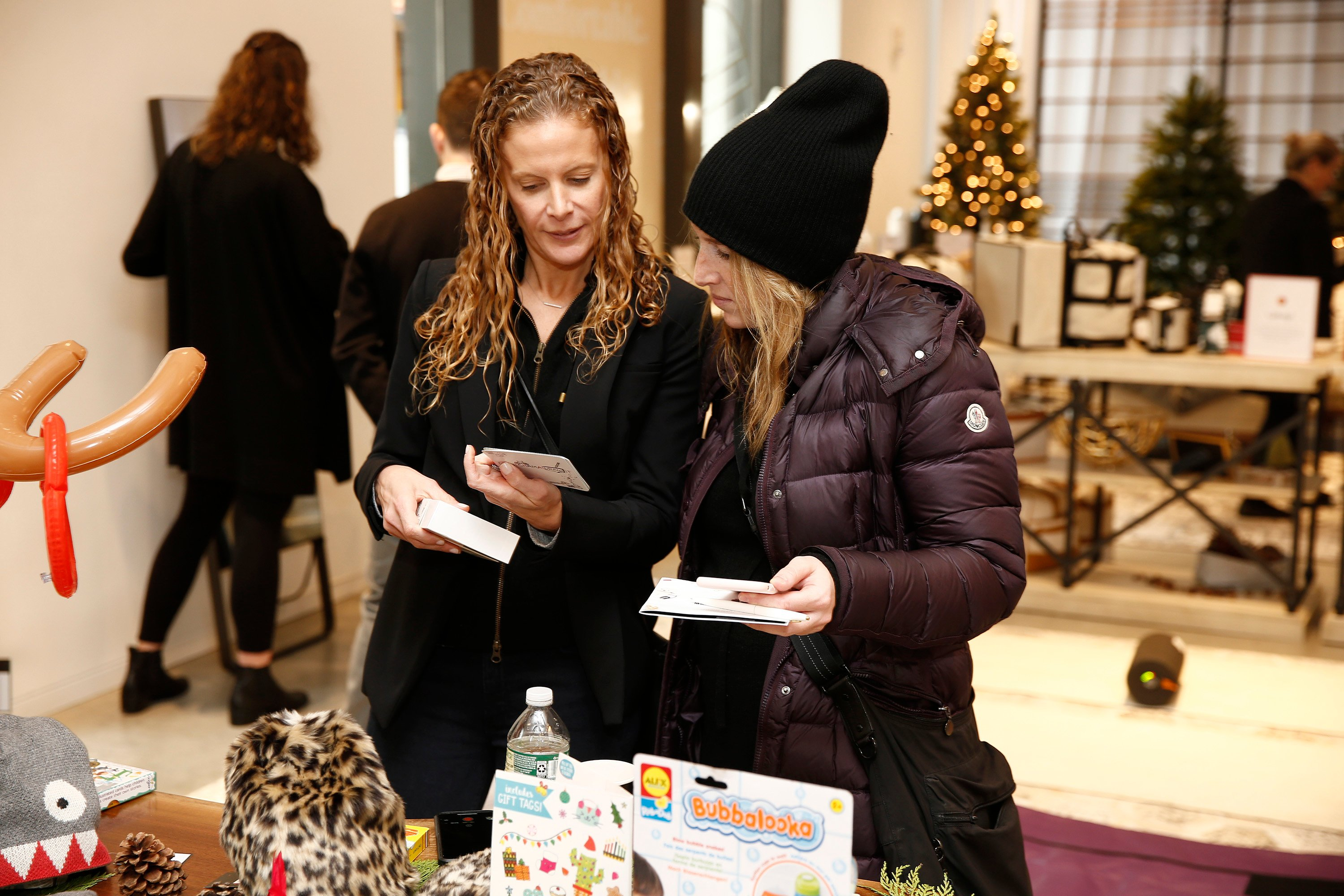 A view of guests shopping the Jetblack Holiday Marketplace Event at Cadillac House on November 13, 2018 in New York City. Brian Ach/Getty Images for Jetblack