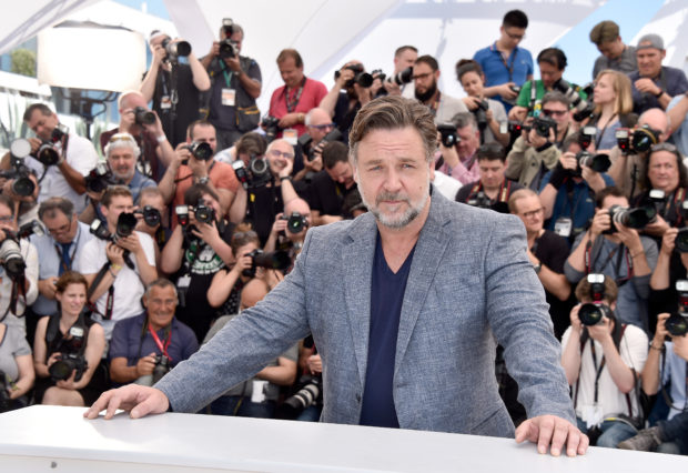 "CANNES, FRANCE - MAY 15: Actor Russell Crowe attends ""The Nice Guys"" photocall during the 69th annual Cannes Film Festival at the Palais des Festivals on May 15, 2016 in Cannes, France. (Photo by Pascal Le Segretain/Getty Images)"