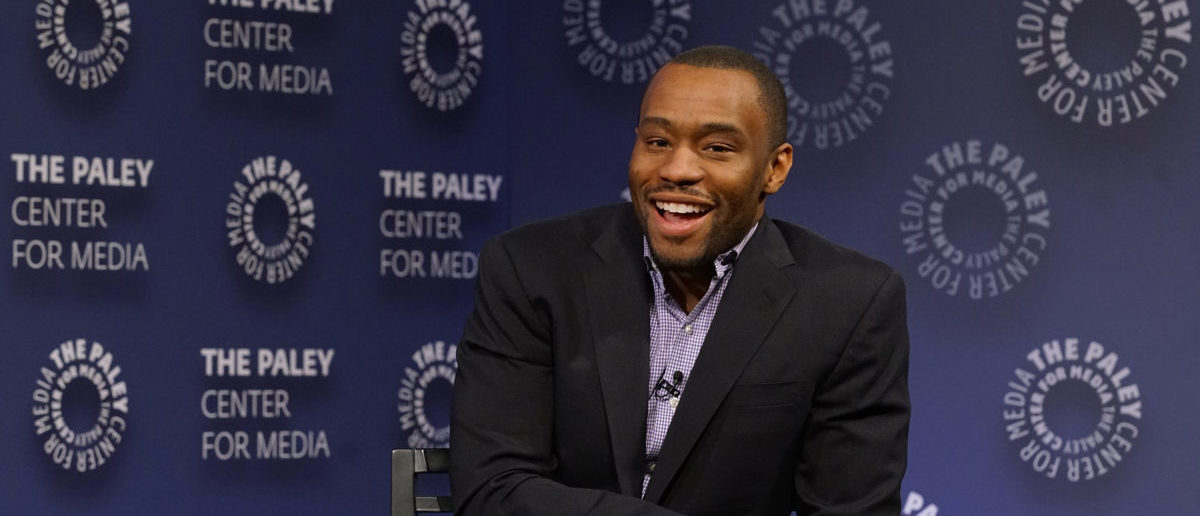 """NEW YORK, NY - DECEMBER 07: Moderator Marc Lamont Hill attends BET Presents """"An Evening With 'The Quad'"""" At The Paley Center on December 7, 2016 in New York City. (Photo by Bennett Raglin/Getty Images for BET Networks)"""