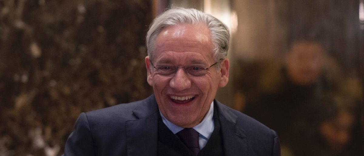 Bob Woodward arrives for a meeting with US President-elect Donald Trump at Trump Tower on January 3, 2017 in New York. (Photo: DON EMMERT/AFP/Getty Images)