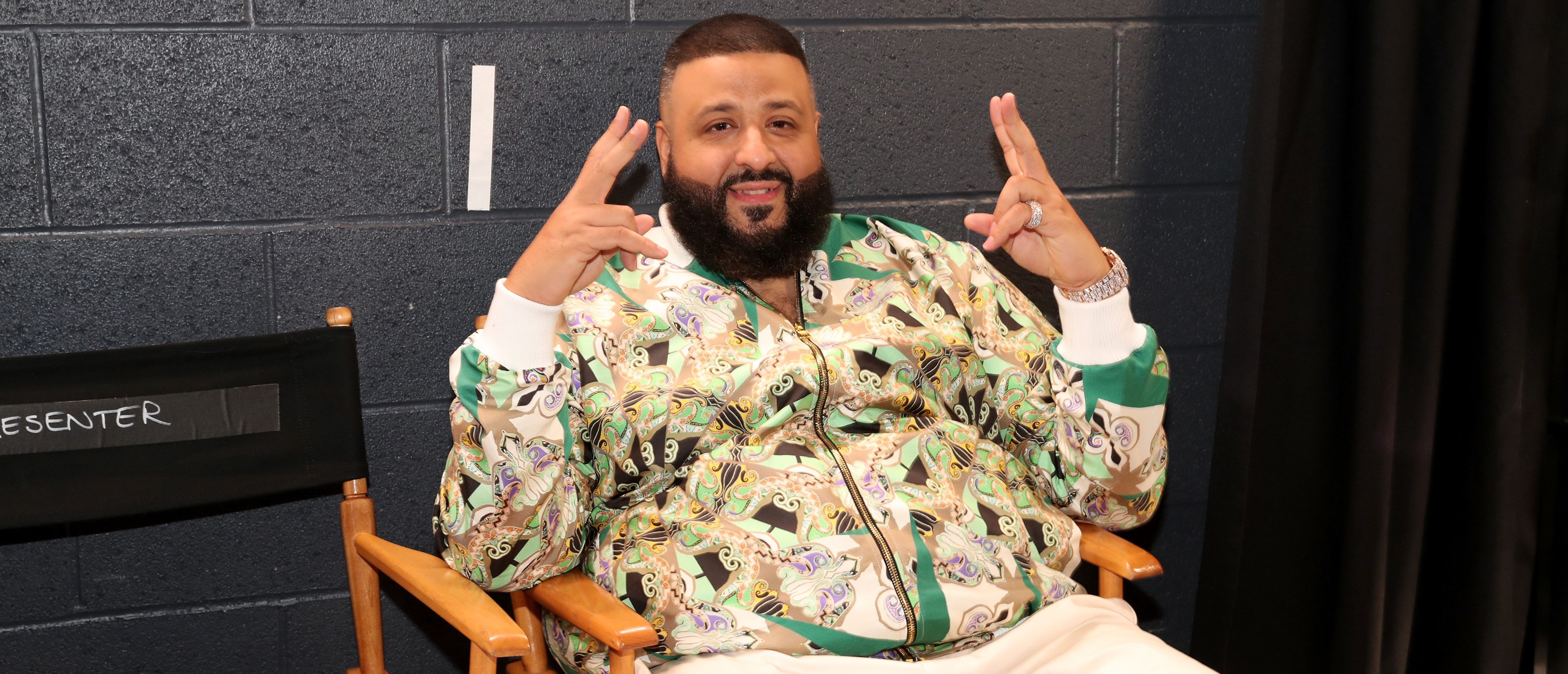 INGLEWOOD, CA - MARCH 11: DJ Khaled attends the 2018 iHeartRadio Music Awards which broadcasted live on TBS, TNT, and truTV at The Forum on March 11, 2018 in Inglewood, California. (Photo by Christopher Polk/Getty Images for iHeartMedia)