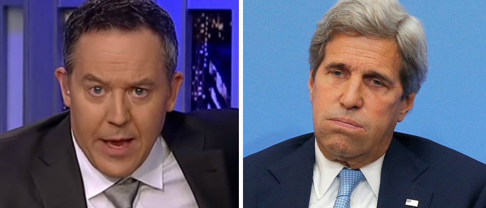 Image result for Greg Gutfeld Zinger Triggers John Kerry Response, But Look Who Got The Last Laugh