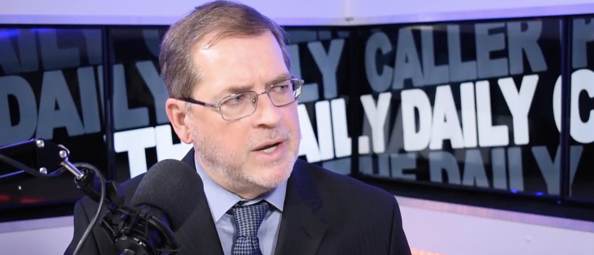 Americans for Tax Reform president Grover Norquist speaks with The Daily Daily Caller Podcast in an interview aired Friday, Nov. 9, 2018. Photo: The Daily Caller