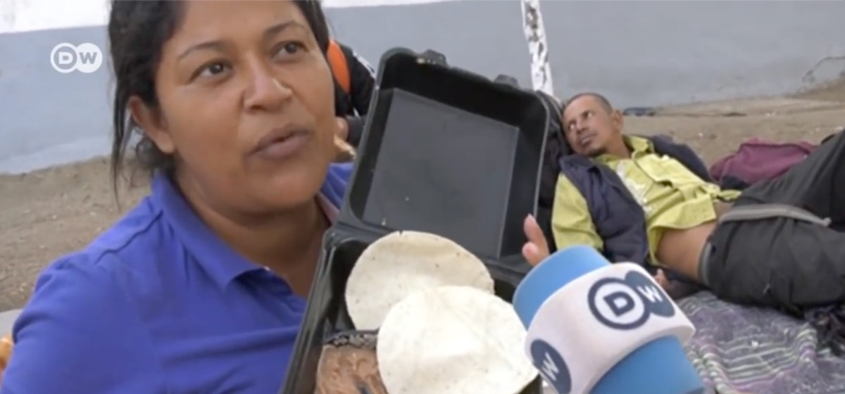 Migrant Complains About Free Food She's Been Given By Mexico, Calls It Pig Food