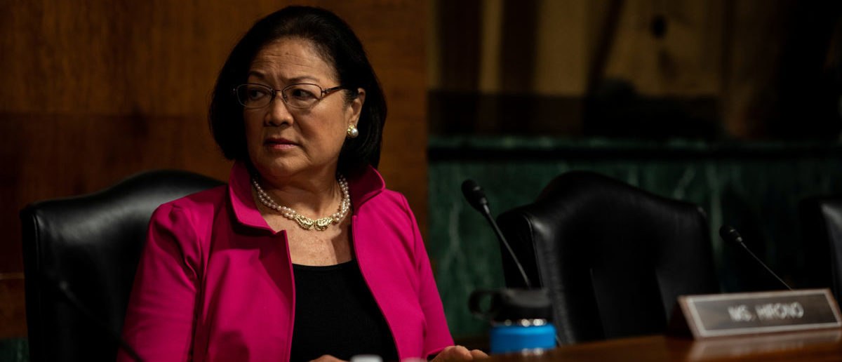 Senator Mazie Hirono attends a Senate Judiciary Committee hearing for Christine Blasey Ford to testify about sexual assault allegations against Supreme Court nominee Judge Brett M. Kavanaugh on Capitol Hill in Washington, U.S., September 27, 2018. Erin Schaff/Pool via REUTERS