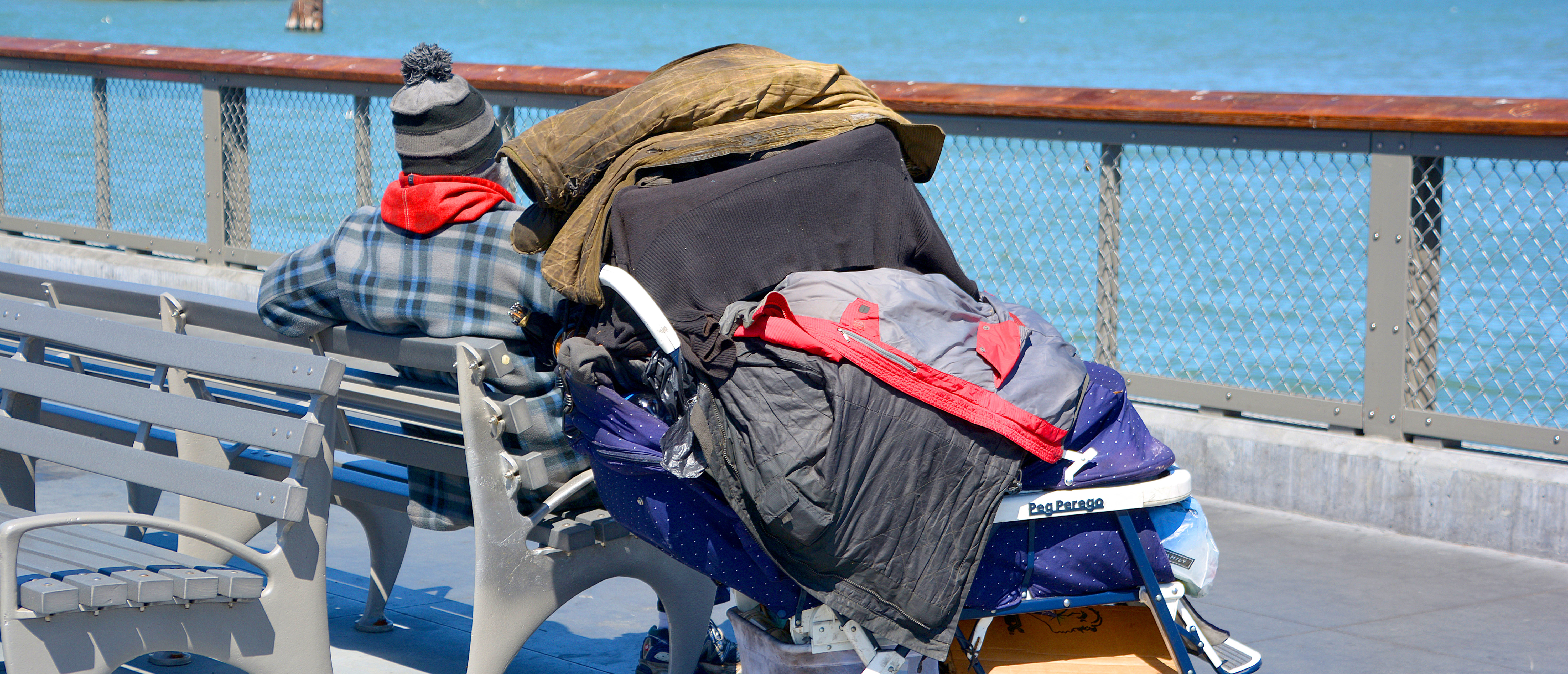 Homeless has one of the Golden State most intractable problems. In San Francisco words like crisis and epidemic often describe the vast number of people on the street. (Shutterstock/Meunierd)
