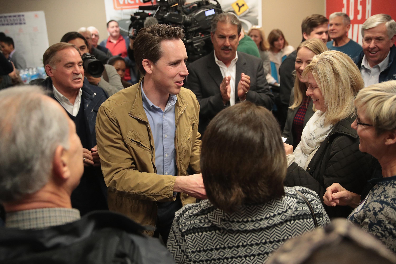 Claire McCaskill And Josh Hawley Campaign In Hotly Contested Missouri Senate Race