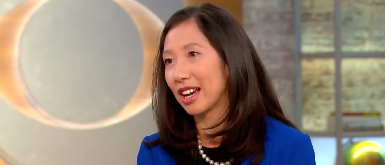 Planned Parenthood President Leana Wen is pictured. YouTube screenshot/CBS This Morning