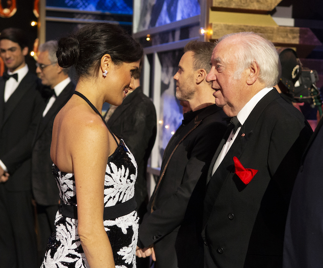 Meghan, Duchess of Sussex attends The Royal Variety Performance 2018 at London Palladium on November 19, 2018 in London, England. (Photo by Ian Vogler - WPA Pool/Getty Images)