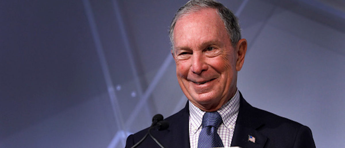 DETROIT, MI - OCTOBER 29: Michael Bloomberg, billionaire and former Mayor of New York City, speaks at CityLab Detroit, a global city summit, on October 29, 2018 in Detroit, Michigan. Bloomberg is considered to be a potential Democratic presidential candidate for the 2020 election. (Photo by Bill Pugliano/Getty Images)