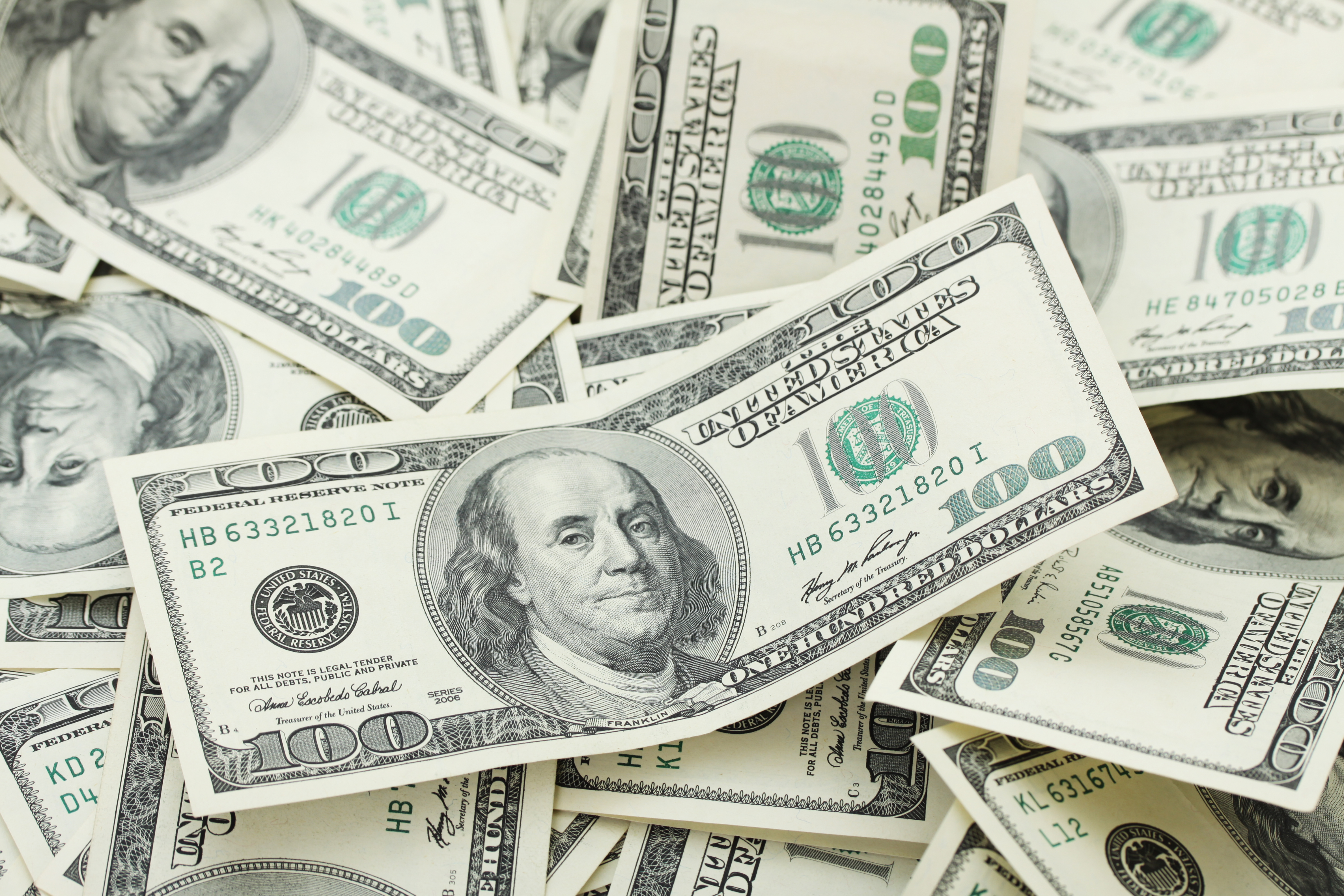 Pictured is money. SHUTTERSTOCK/ evka119