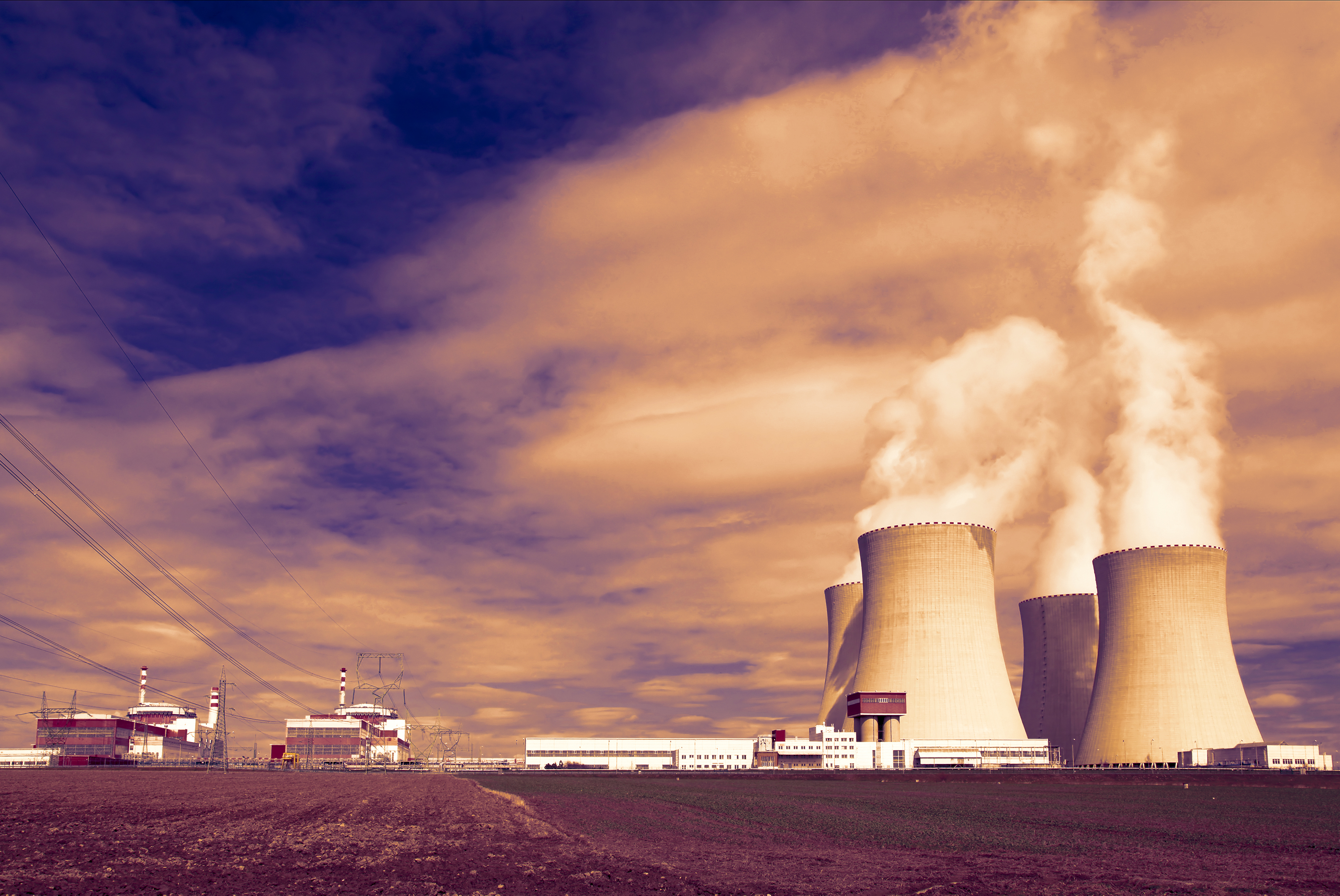 Nuclear Facility. Shutterstock