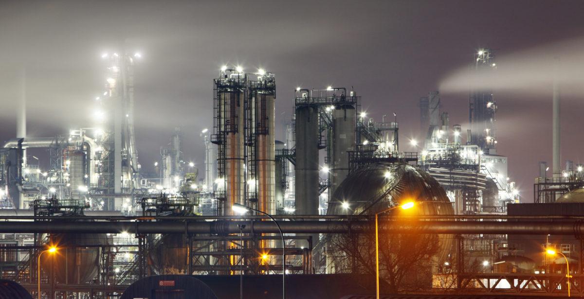 Oil Refinery. Shutterstock