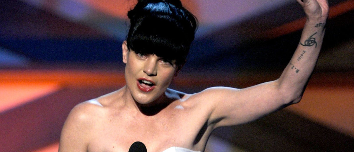 LOS ANGELES, CA - JANUARY 05: Actress Pauley Perrette speaks onstage during the 2011 People's Choice Awards at Nokia Theatre L.A. Live on January 5, 2011 in Los Angeles, California. (Photo by Kevin Winter/Getty Images)