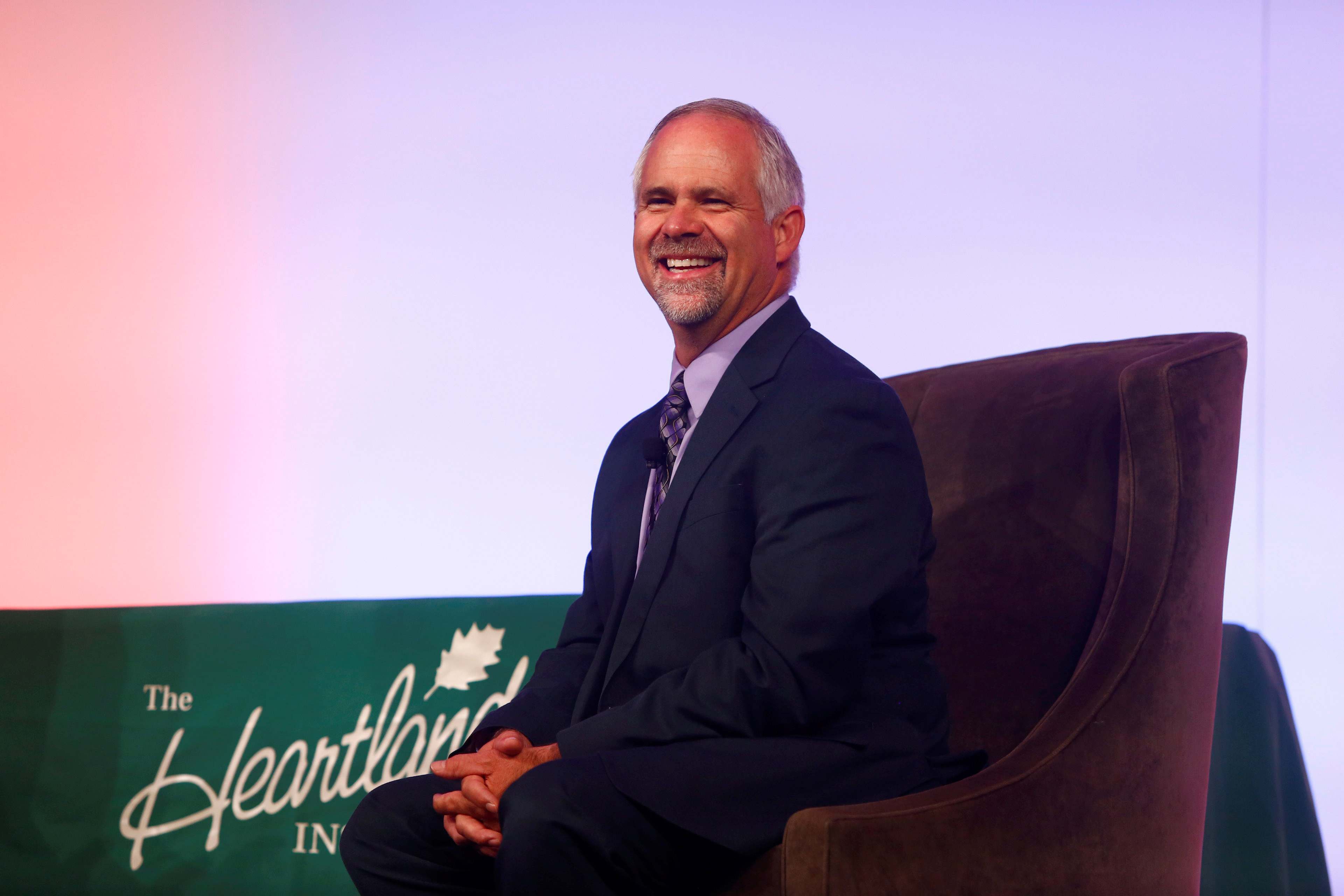 Tim Huelskamp during the America First Energy Conference 2018 in New Orleans