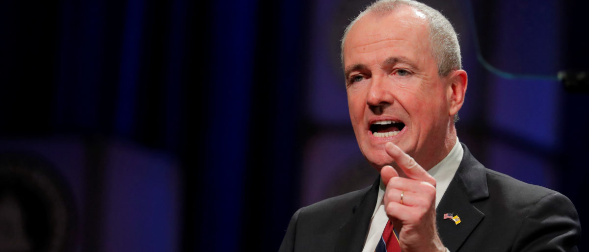 Newly sworn in New Jersey Governor, Phil Murphy, speaks after taking the oath of office in Trenton, New Jersey, U.S., January 16, 2018. REUTERS/Lucas Jackson.
