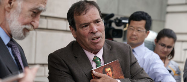 Randy Credico testified before Mueller's grand jury on Sept. 7, 2018. (Alex Wong/Getty Images)