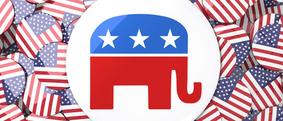 Republican Logo via. (Shutterstock)