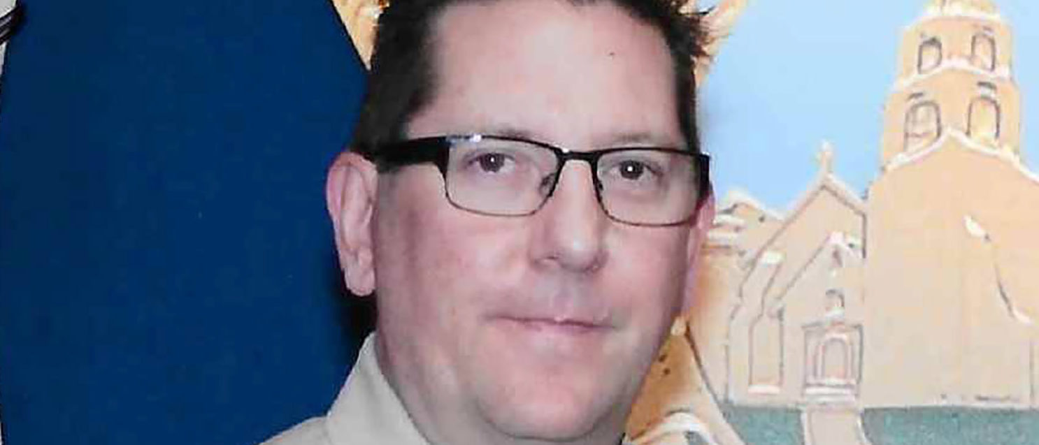 Sheriff's deputy Sergeant Ron Helus, killed when a gunman opened fire at a crowded popular southern California bar, in Thousand Oaks, California, U.S., is shown in this photo provided November 8, 2018. Courtesy Ventura County County Sheriff's Office/Handout via REUTERS