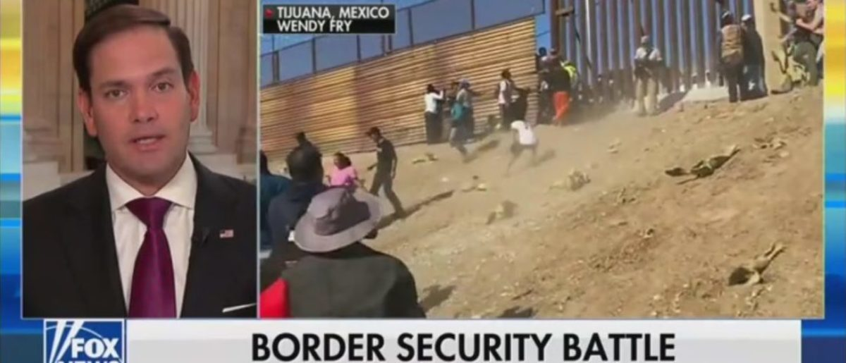 Marco Rubio Says Border Crisis Was Deliberately Manufactured To Test America's Immigration System