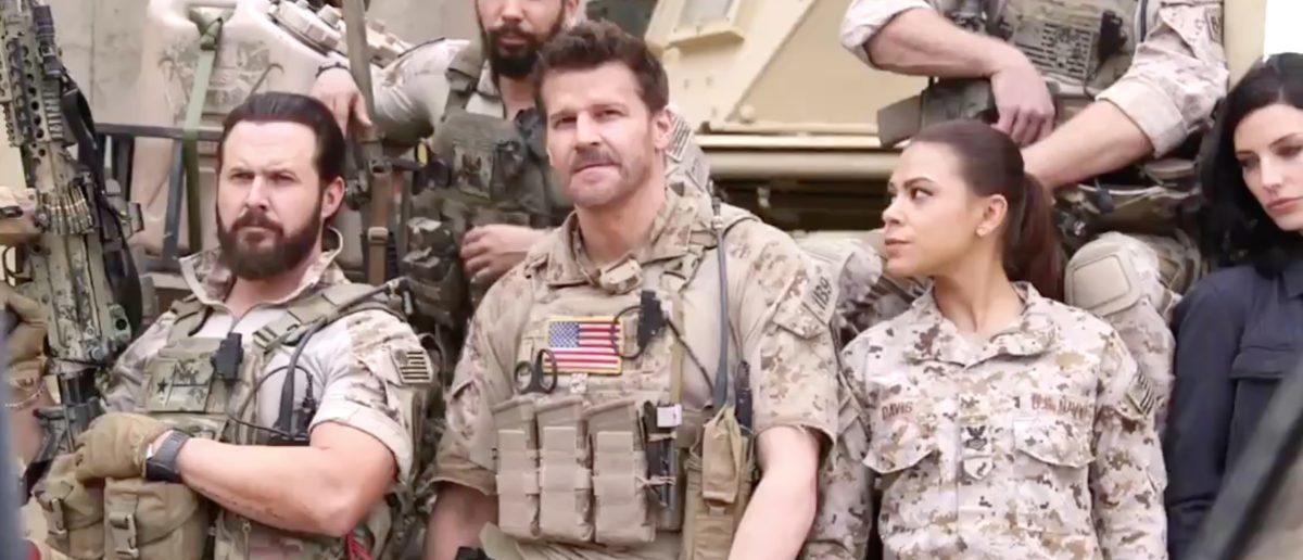 SEAL Team (Credit: Screenshot/Twitter Video SEAL Team)