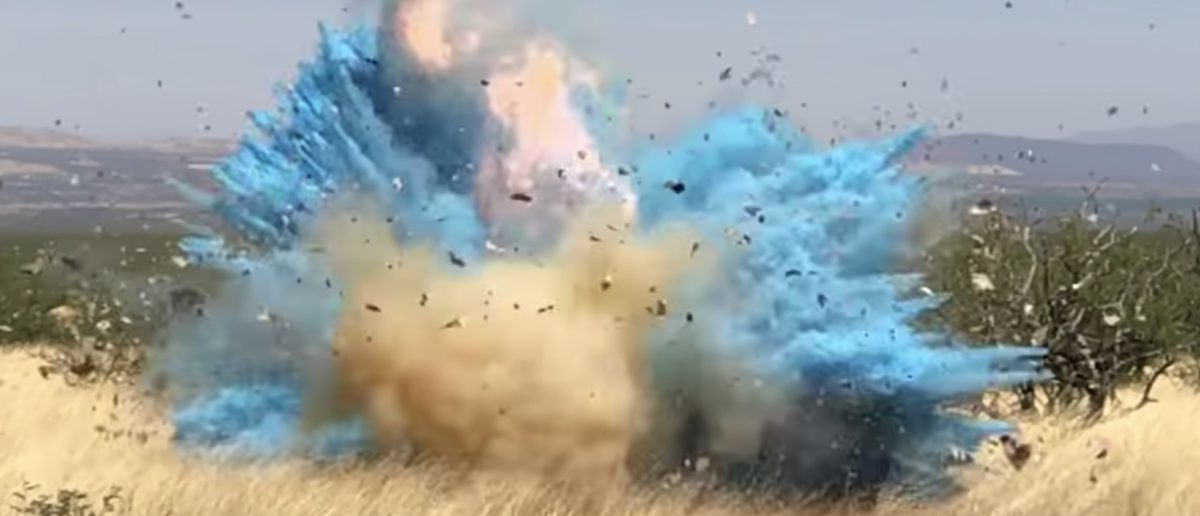 The Forest Service has released video showing how a gender reveal party led to a 47,000 acre Arizona wildfire in April 2017. (YouTube/Screenshot/Arizona Daily Star)
