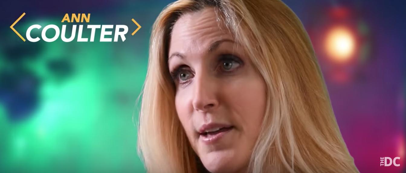 Ann Coulter on preventing a blue tsunami (DC screenshot)