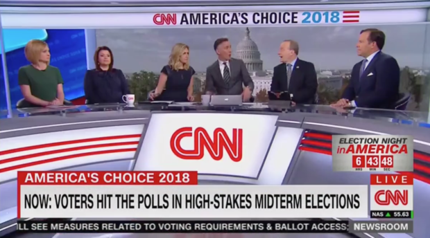 Paul Begala Talks On Panel (CNN Screenshot: November 6, 2018)