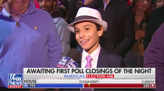 """Kid Reporter"" Phoenix, Fox News/ Screenshot"