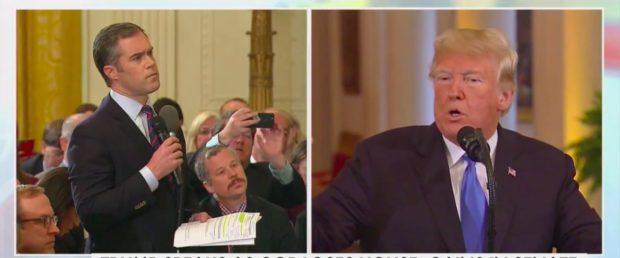 Peter Alexander Questions Trump (Fox News Screenshot: November 7, 2018)