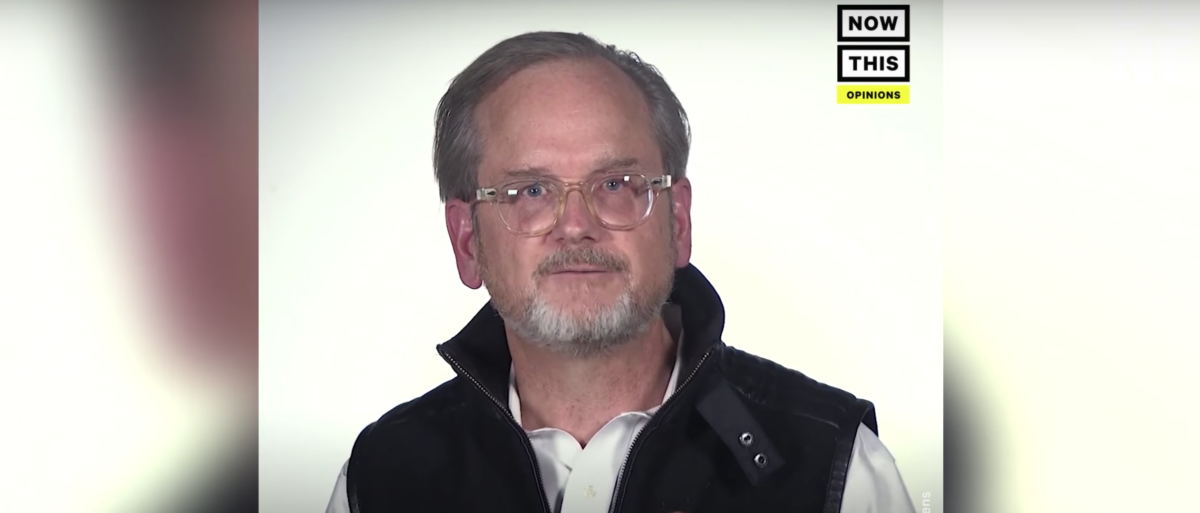 Lawrence Lessig made a video with NowThis about why the older generation is to blame for the current state of American politics. (YouTube/TheDCNF)