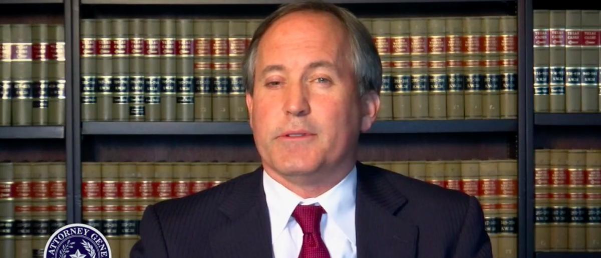 Texas Attorney General Ken Paxton [YouTube/screen shot]