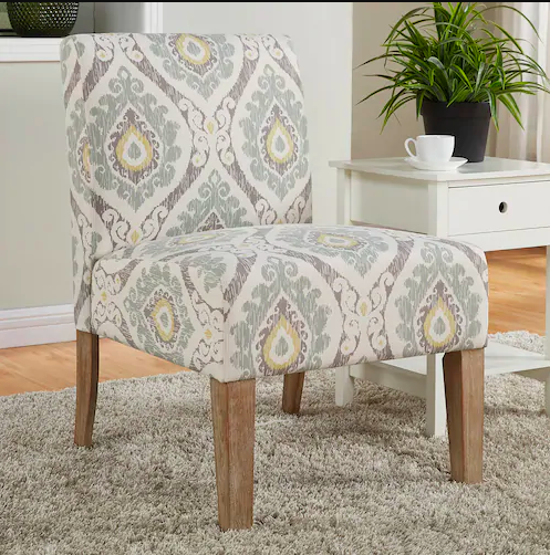 Normally $200, this accent chair is 50 percent off (Photo via Kohl's)