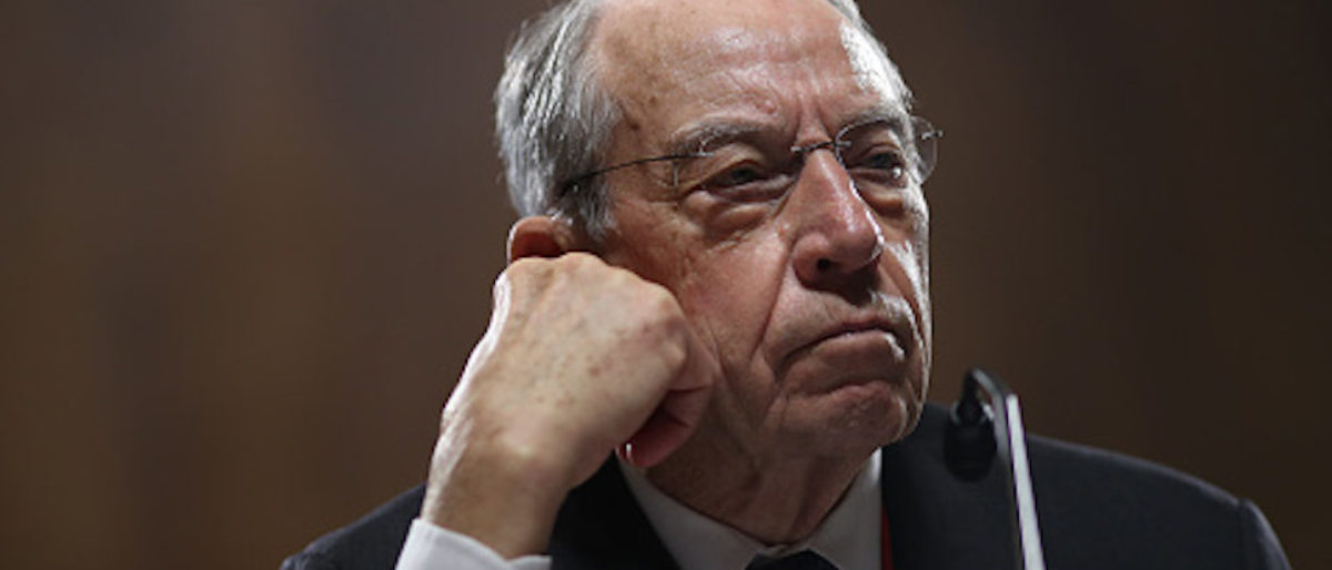 Chuck Grassley Pressed Mueller Over 'Selective Use' Of Emails In Trump Adviser's Court Filings