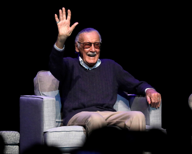 "Marvel Comics co-creator Stan Lee attends a tribute event ""Extraordinary: Stan Lee"" at the Saban Theatre in Beverly Hills, California, U.S., August 22, 2017. REUTERS/Mario Anzuoni"