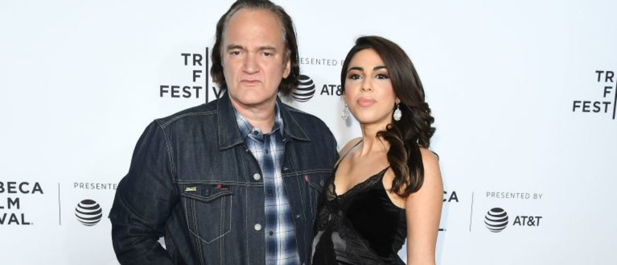 Director Quentin Tarantino and Singer/actress Daniella Pick attend the 'Reservoir Dogs' 25th Anniversary Screening during 2017 Tribeca Film Festival at Beacon Theater on April 28, 2017 in New York City. (Photo: read ANGELA WEISS/AFP/Getty Images)