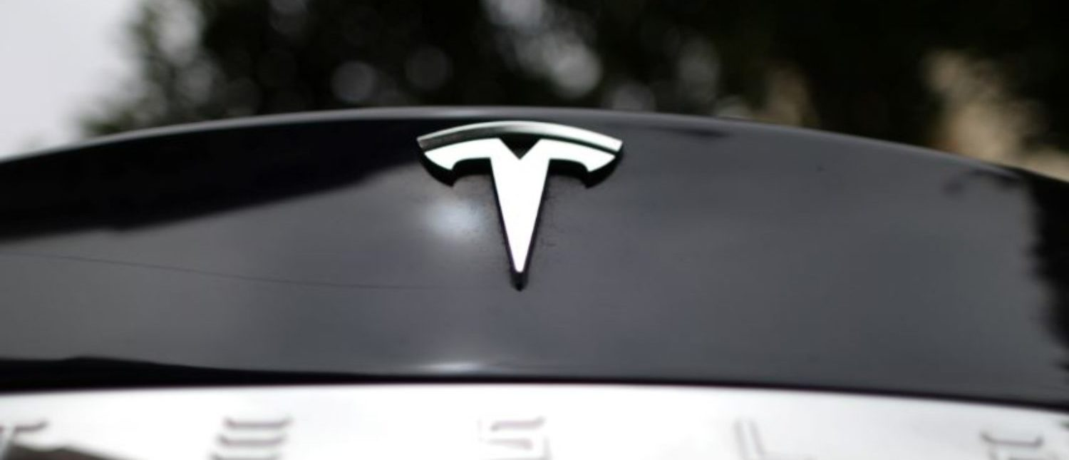 A Tesla car is seen in Santa Monica, California, United States, October 23, 2018. REUTERS/Lucy Nicholson